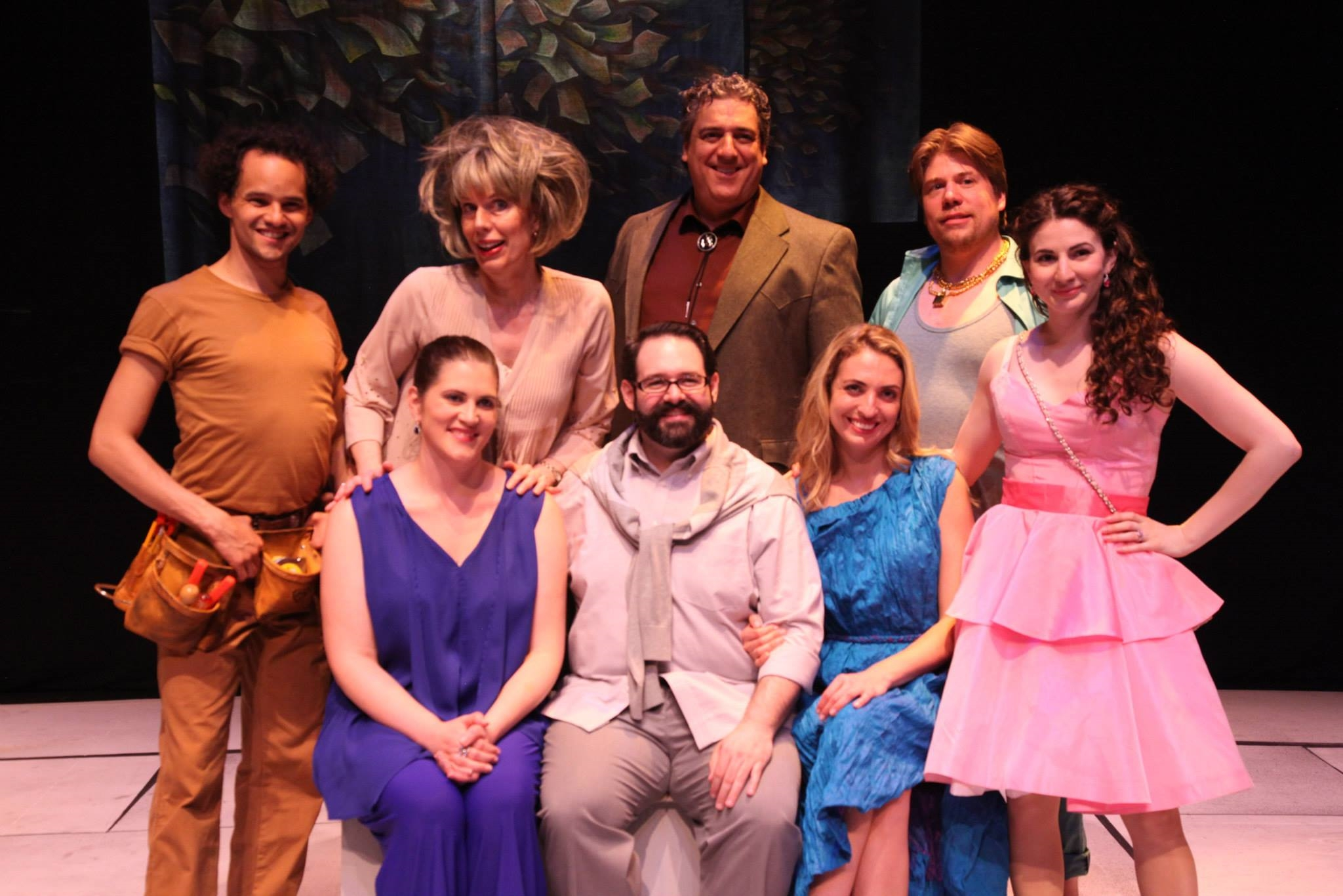 the cast of  A Certain Quiet,  World Premiere, at Theater for the New City