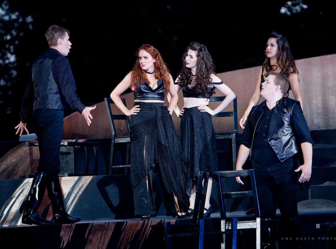 Frasquita in Act II, the Smuggler's Quintet