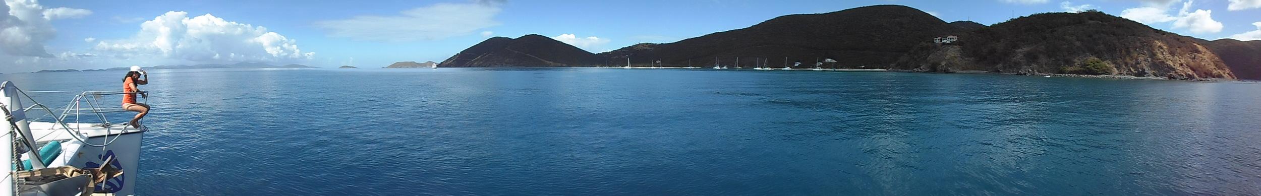 Sail around Jost Van Dyke.