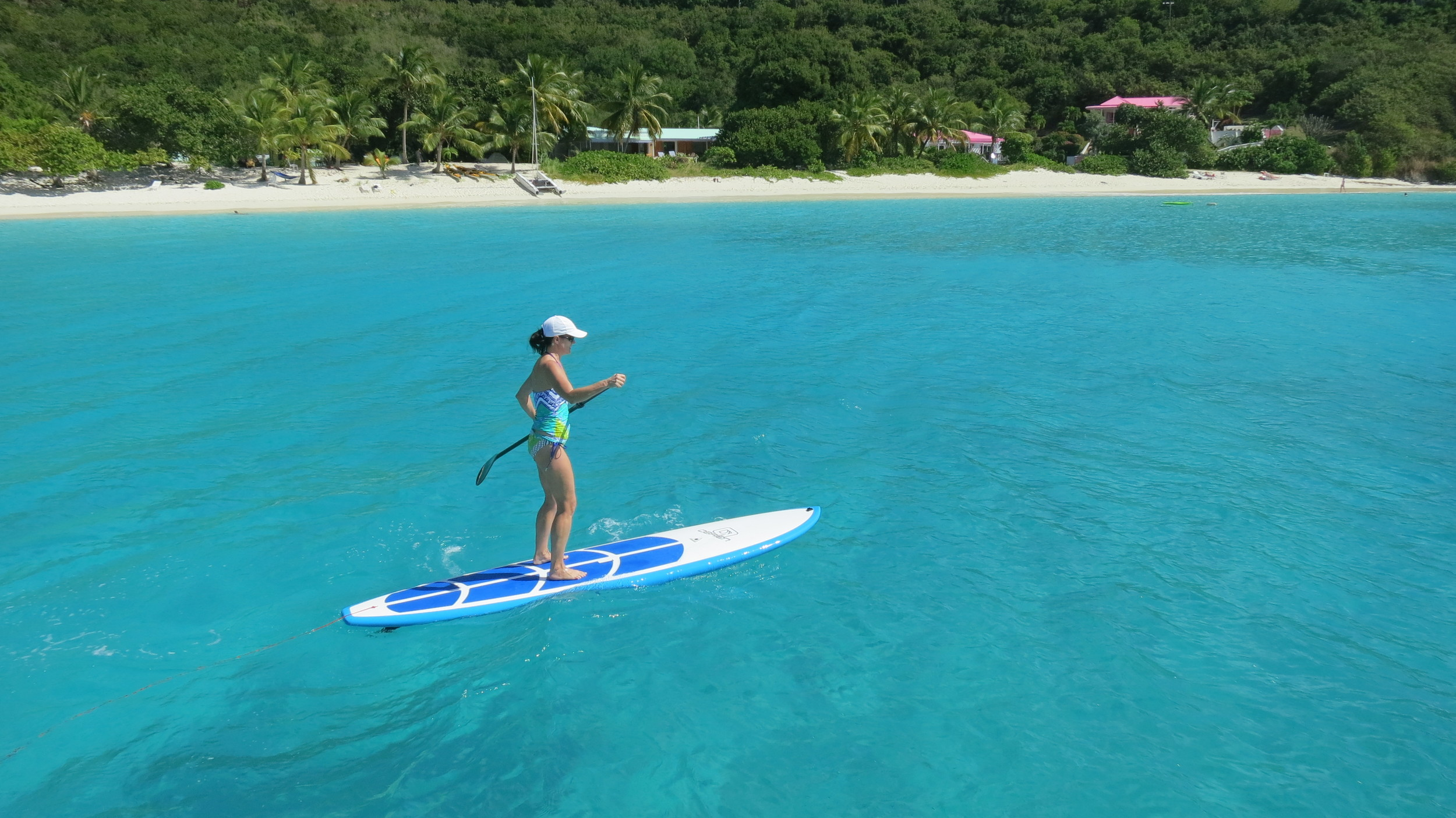 Cruise around on the Stand Up Paddle Board (SUP)