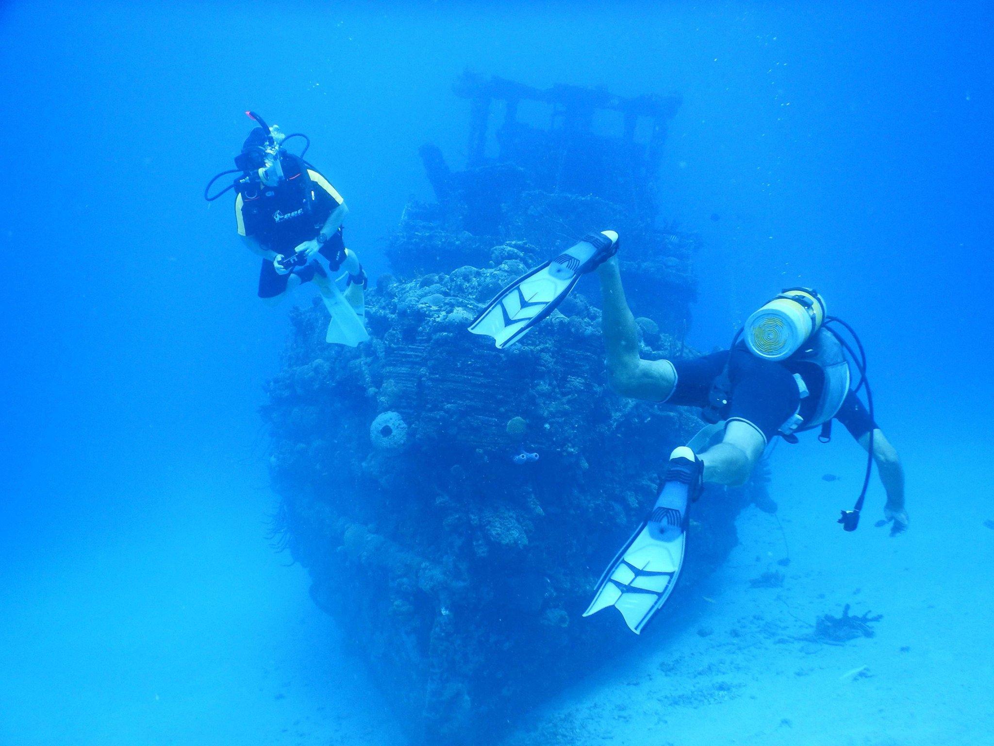 Explore below the surface.  SCUBA