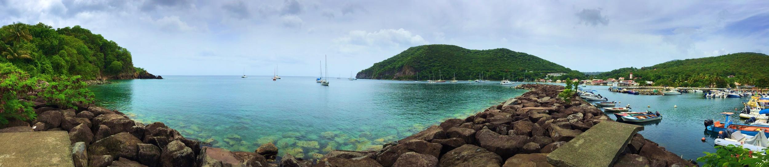 Fishing Village of Deshais, Guadeloupe