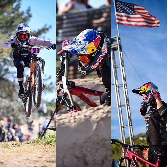 The legendary @jillkintner  #seaotterclassic #dualslalom #race #mtb #air #hangtime #liftoff #style #float #dirt #bike #ride #dh #downhill