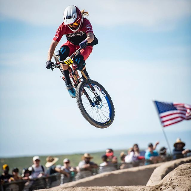 A few favorites from the Men's Pro Dual Slalom at Sea Otter 2019. . . . #seaotterclassic #seaotterclassic2019 #mtb #bike #mountainbike #ride #dirt #air #berm #style #race #professional #athlete