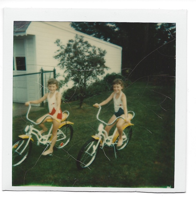 New bikes.  #Polaroids #LifeWithoutDigitalPhotography
