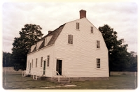 The outside of a typical meeting house