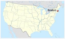 Boston, Massachusetts (source: Wikipedia)
