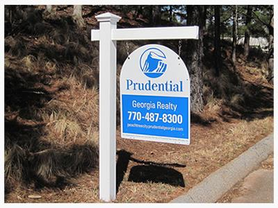 Real estate yard sign (source: Prudential Realty)