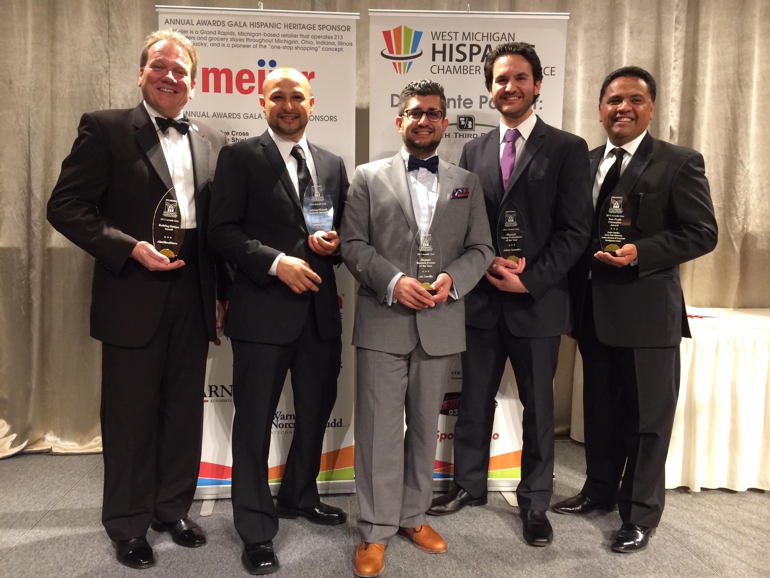 Left to right: Alan Headbloom, Luis Garcia, Abe Carillo, Arturo Gonzalez, Carlos Sanchez