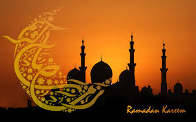 """Ramadan kareem"" is an Arabic greeting meaning ""Happy Ramadan,"" which can be used with your Muslim co-workers or friends."