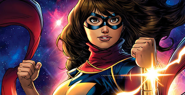 Kamala Khan, Pakistani-American teenage superhero from New Jersey, is also Muslim.
