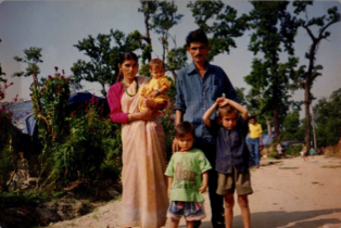 1993 – My parents and siblings