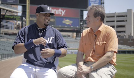 Detroit Tigers catcher Brayan Peña tells Alan what he loves about the United States.