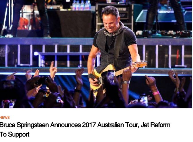 Bruce Springsteen, E Street Band, Diesel and Jet