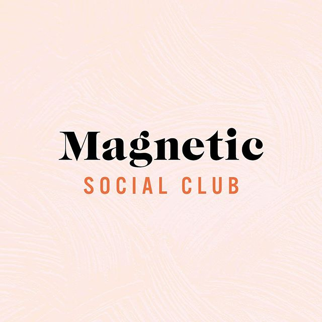 Selecting colors is so important when designing a brand as they have a massive impact on emotions and our first impressions of a company. I love the bright, energetic and unique color palette we created for Magnetjc Social Club. We went with warm, bright colors and a cool light blue to add some contrast. See the full color palette on the next slide!