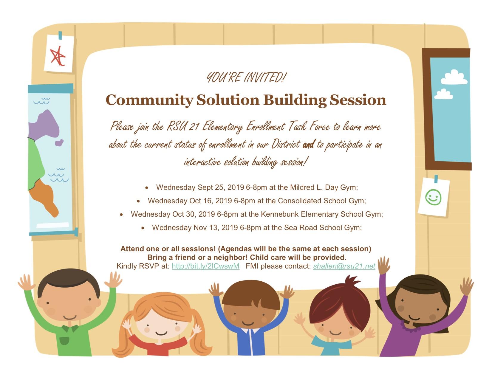 Community Building Session