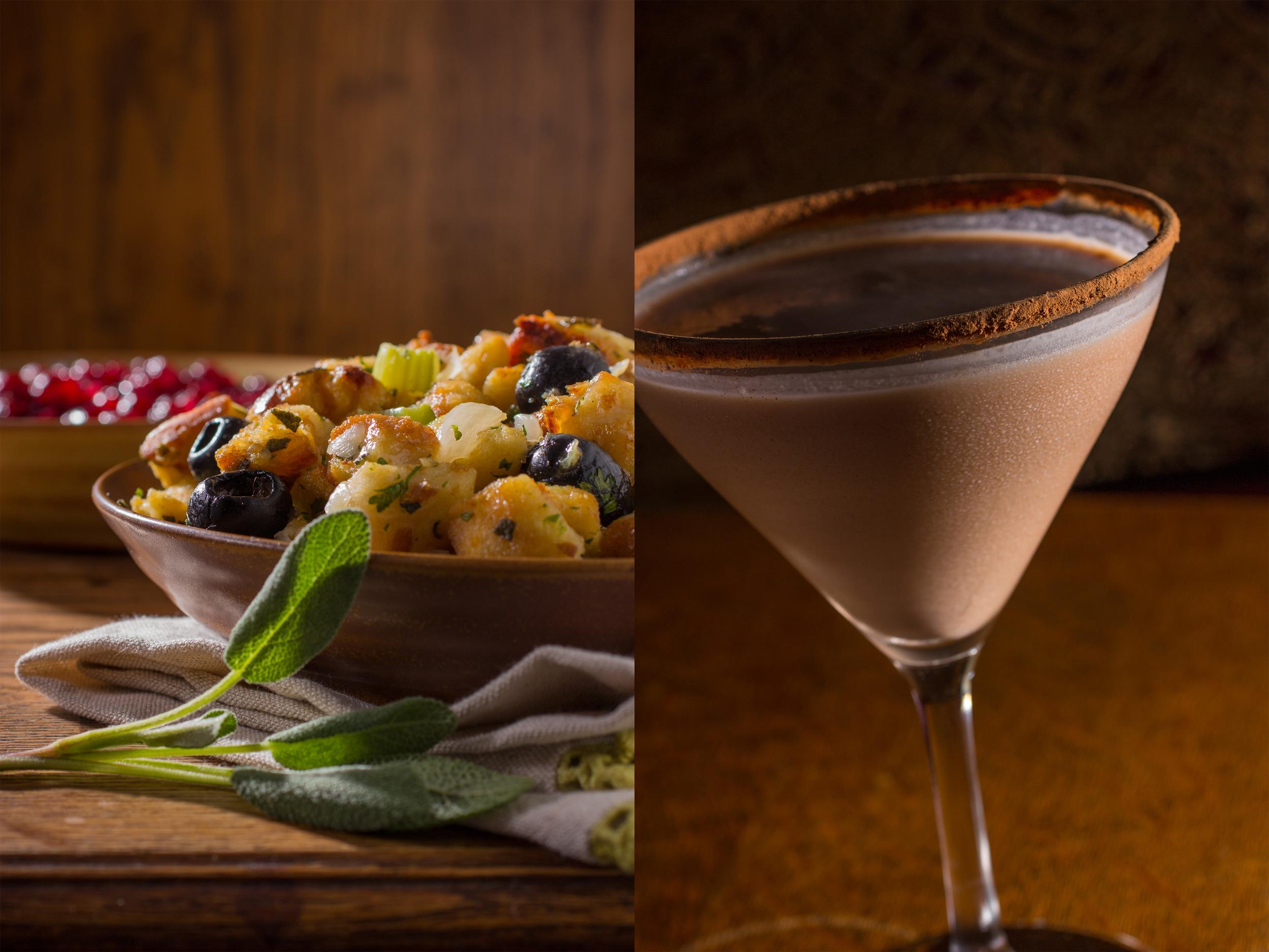 Stuffing/Chocolate Martini