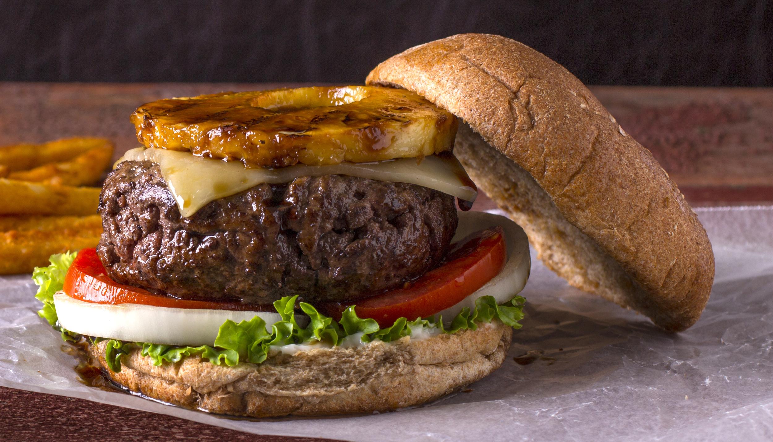 Hawaiian Cheeseburger
