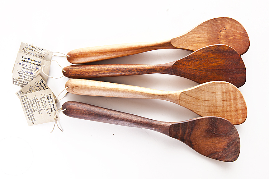 Hand Carved Spoons in variety of hardwoods