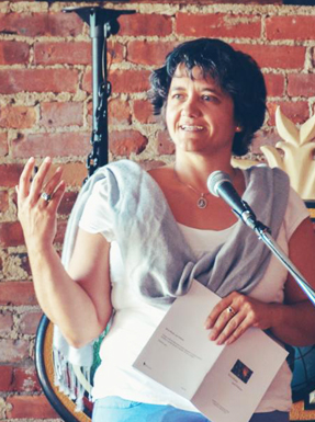 City of Nanaimo Poet Laureate Tina Biello
