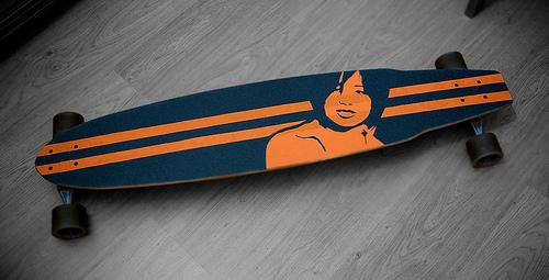 longboard balance training