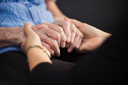 A woman visits her mother and witnesses firsthand her mother's decline into dementia.