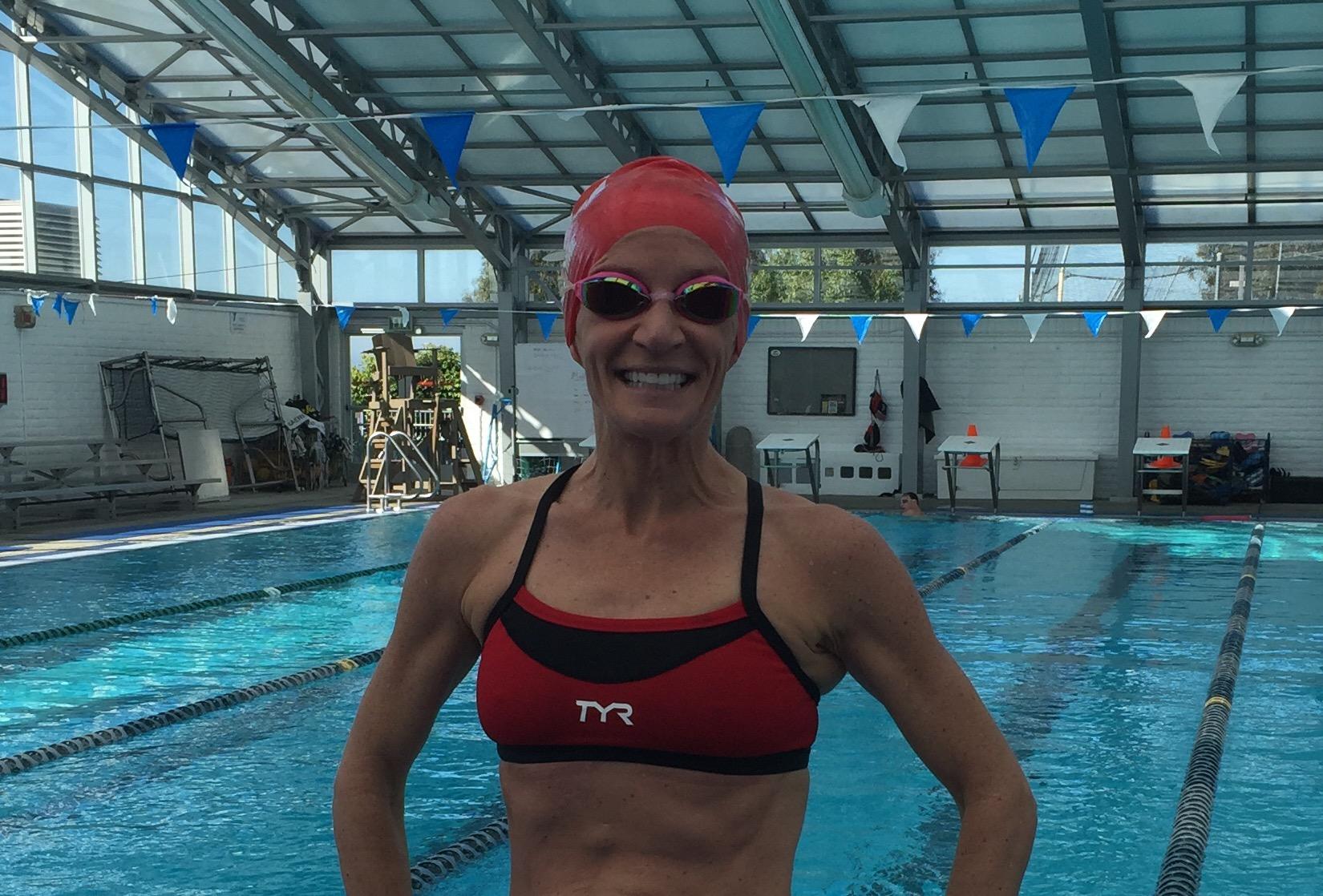Post swim smiles!