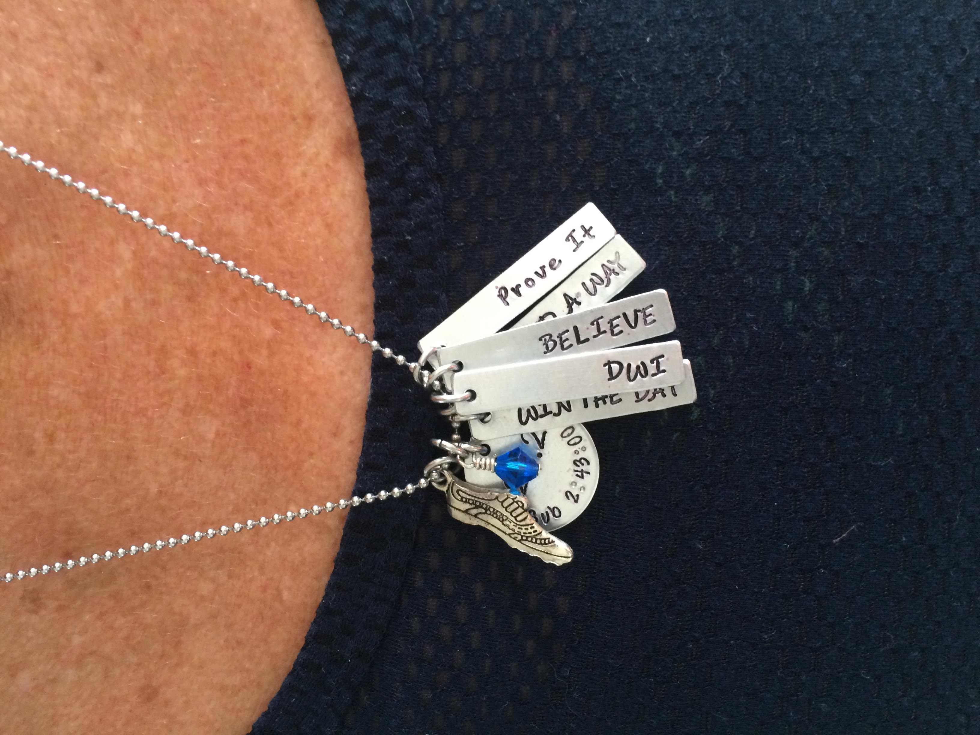 My believe necklace