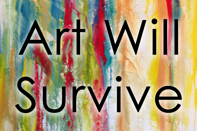 Art Will Survive is an annual Spring event held at Greensboro Artist Tracey J Marshall'shome.