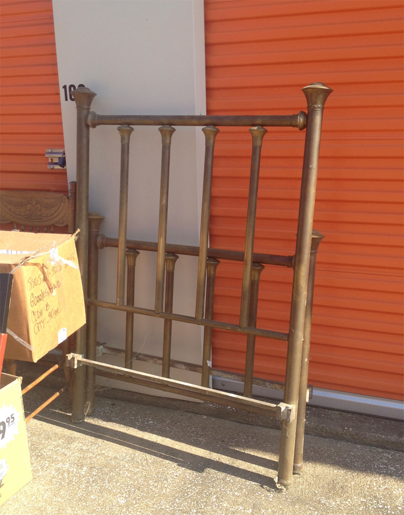 Antique Twin Brass Bed Frames