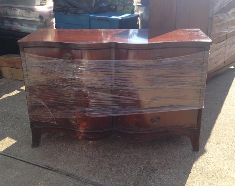 Mahoganny Dresser with Mirror