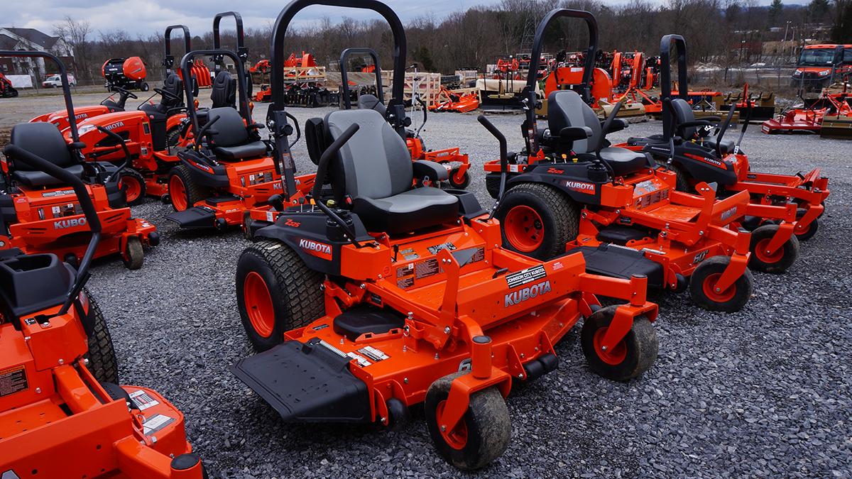 Z Series Zero Turn Mowers 19 3-30 8 HP — Johnson City Kubota