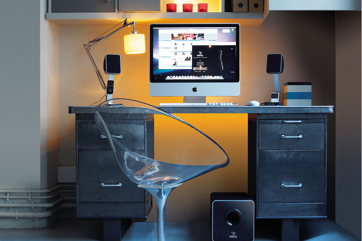 Focal XS desktop speakers and subwoofer