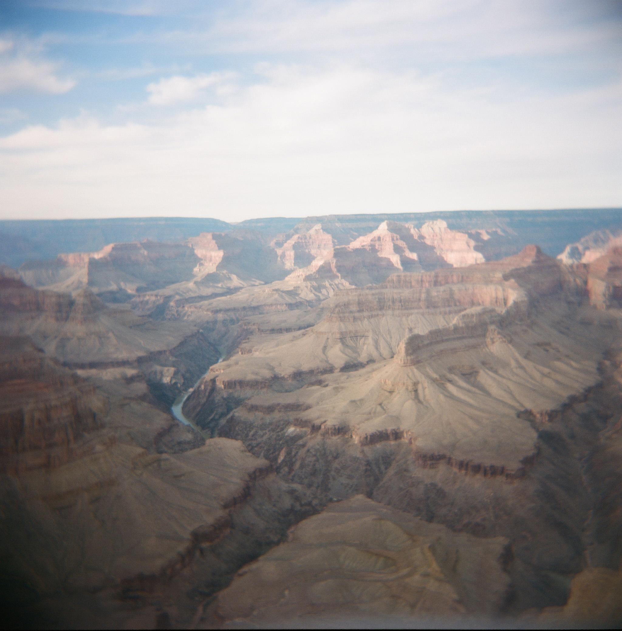 Holga, Grand Canyon, USA
