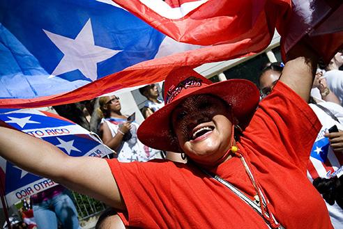 Puerto Rican Day Parade, NYC, USA