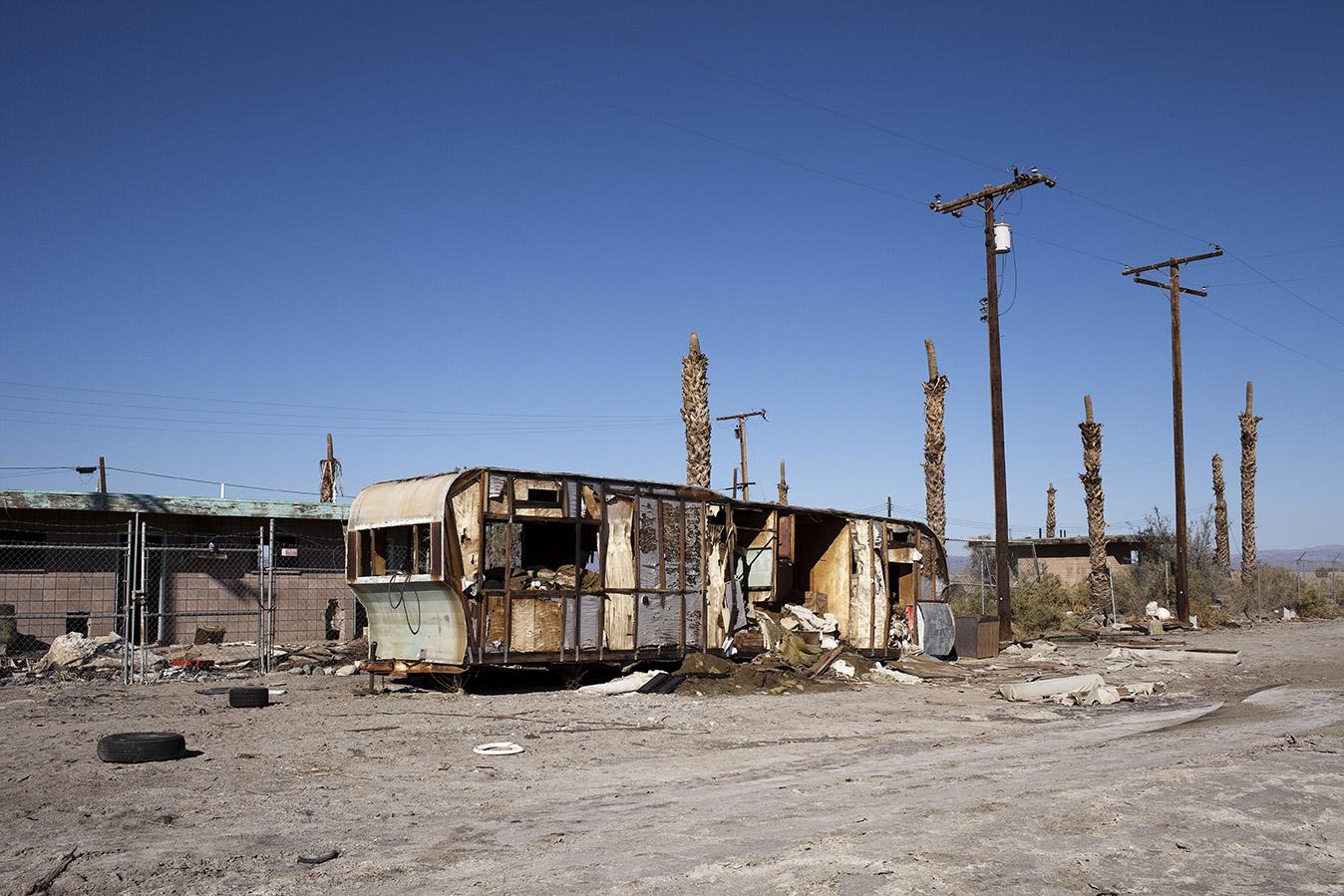 The Salton Sea, CA USA
