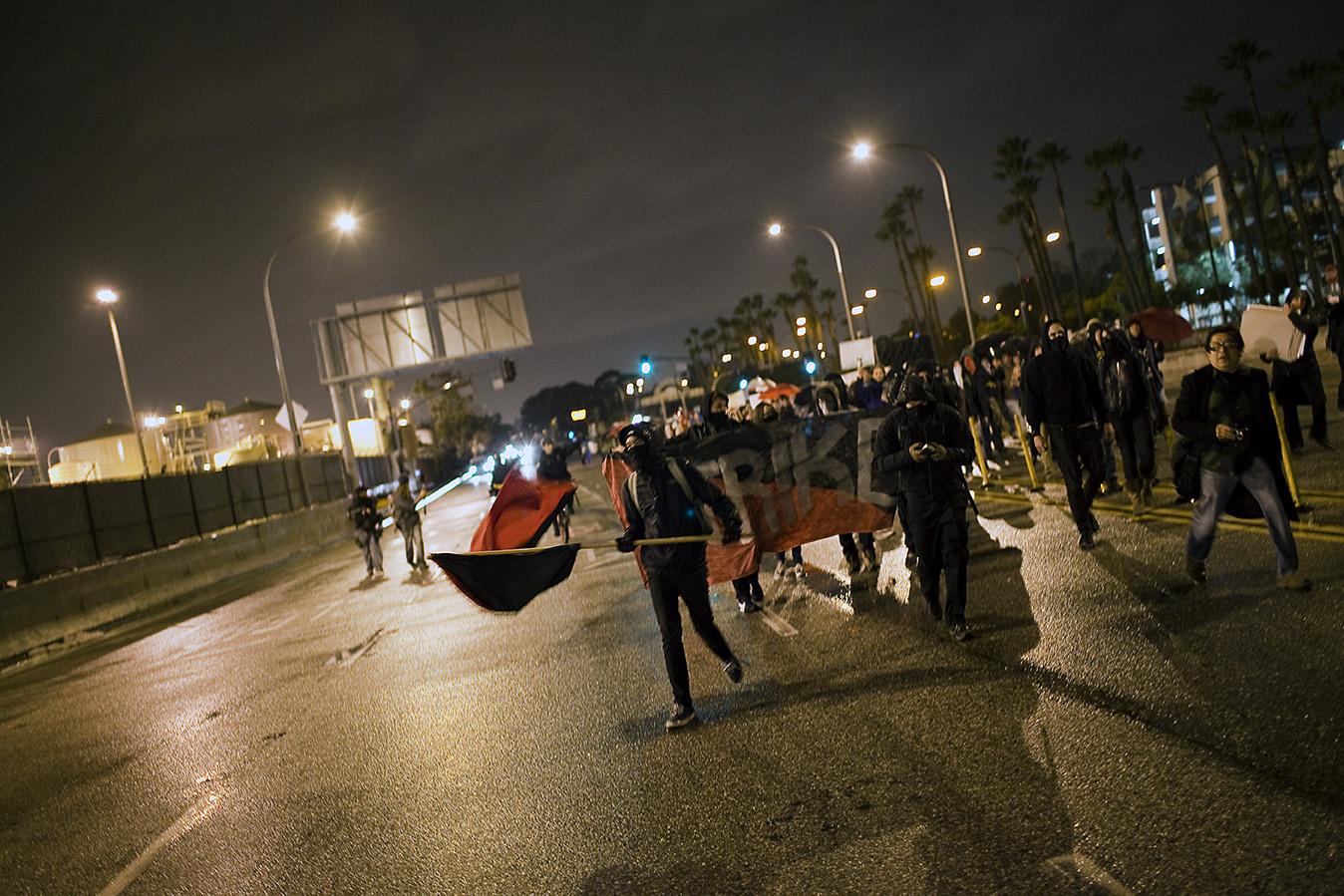 Occupy the Ports, Long Beach, CA USA