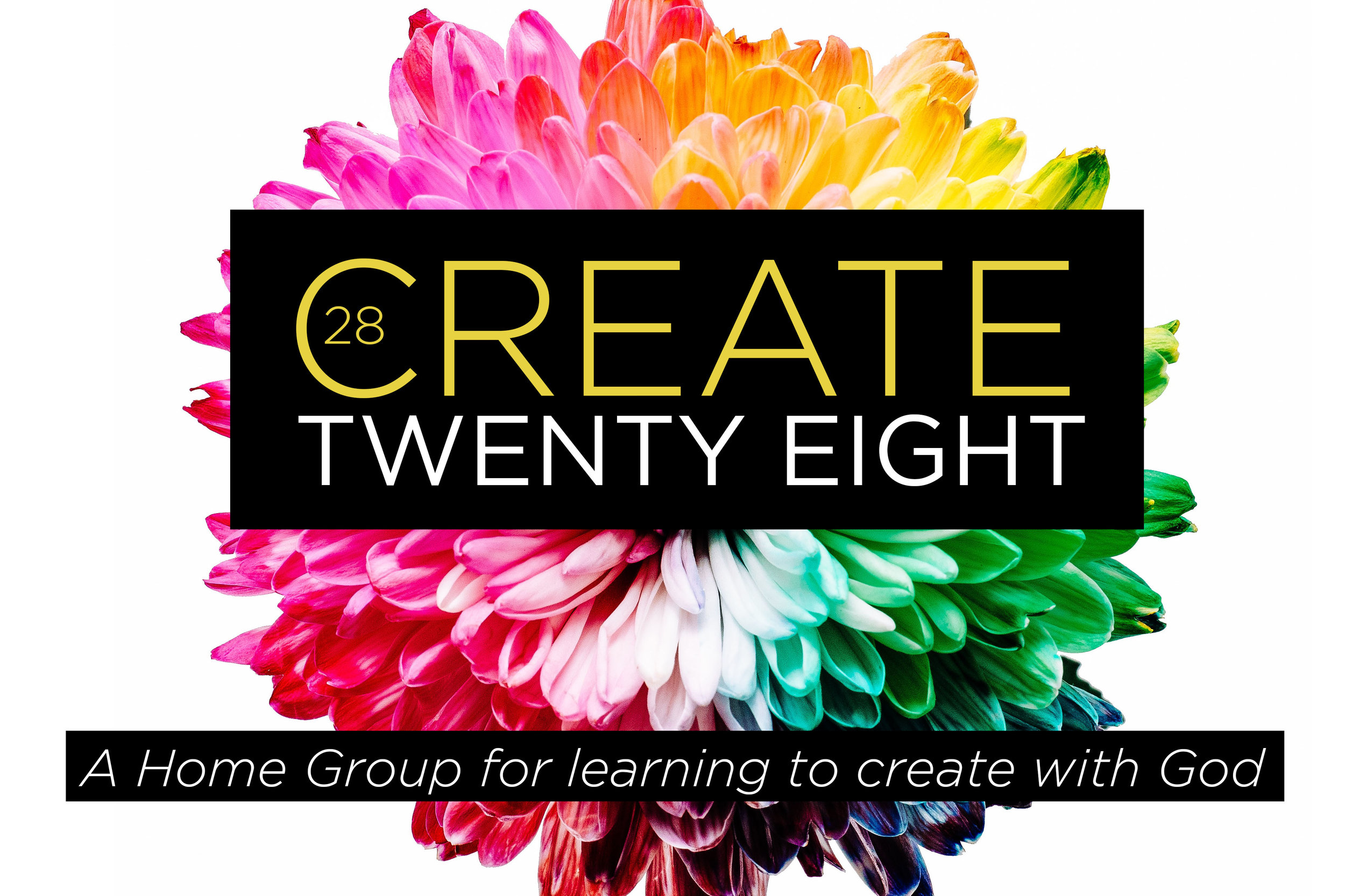 Create28 HomeGroup   VOT is launching Create 28, a HomeGroup to foster creativity within community! Everyone carries an expression of God's creativity in them - don't count yourself out! Create 28 will be going through Theresa Dedmon's curriculum in order to cultivate a greater understanding of God's creative heart for you!   The groups regular meeting time will be Thursday Nights throughout April-May!