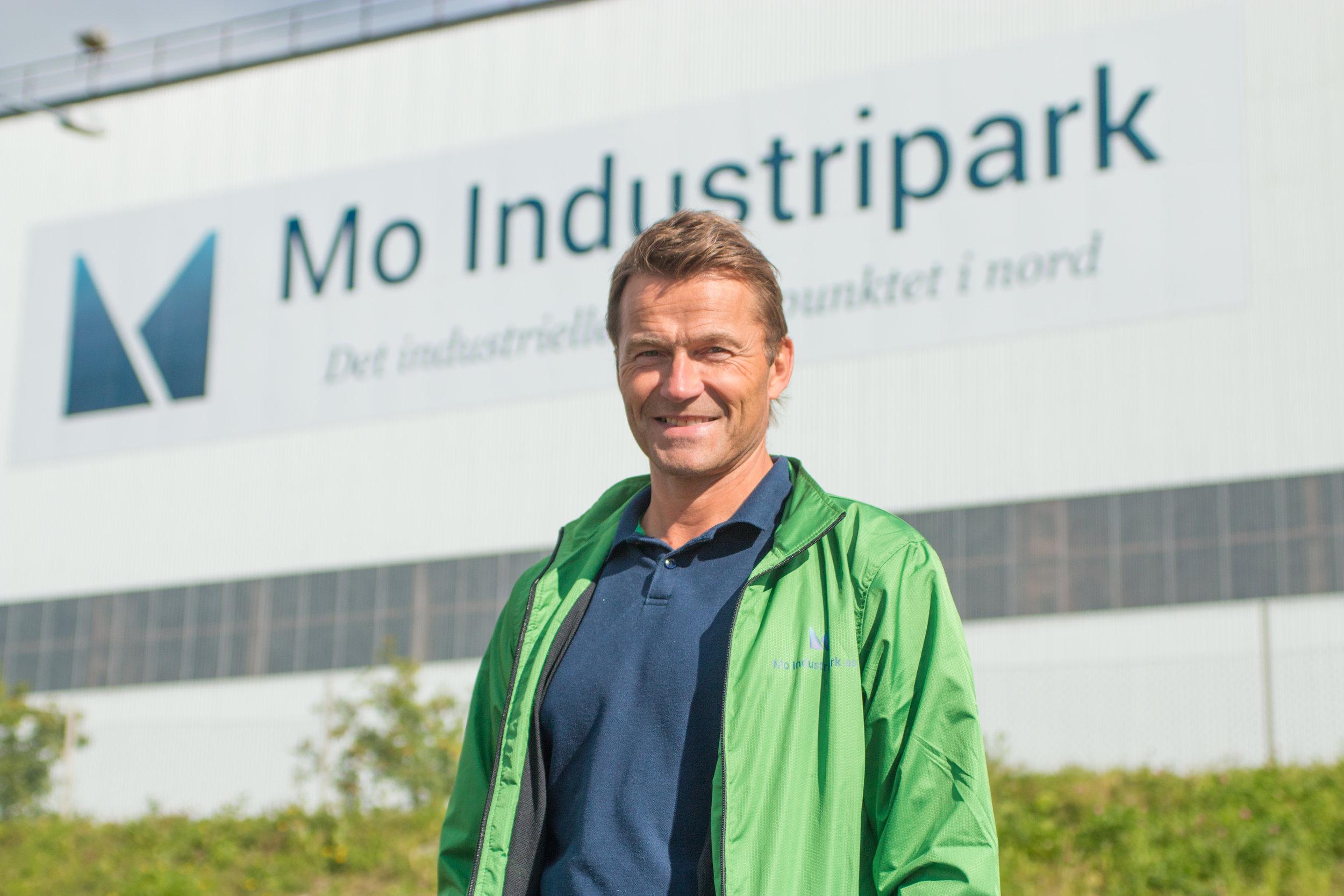 Fornyer samarbeidet med Rød snø. Markedssjef i Mo Industripark, Jan Gabor.
