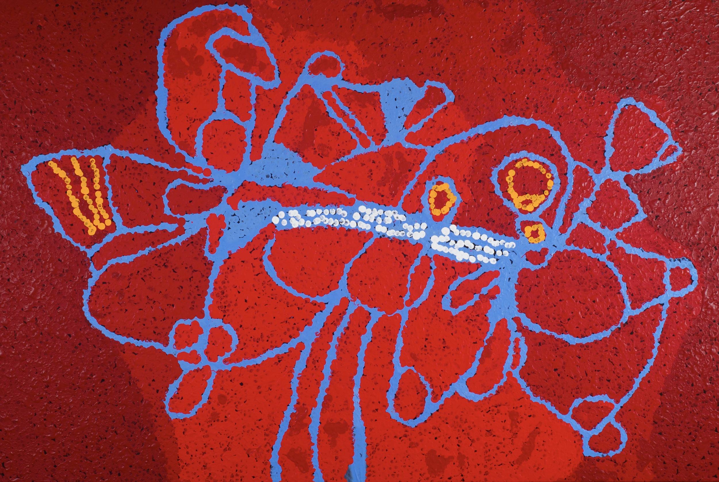 Tommy Watson 'Untitled' 146cm x 100cm