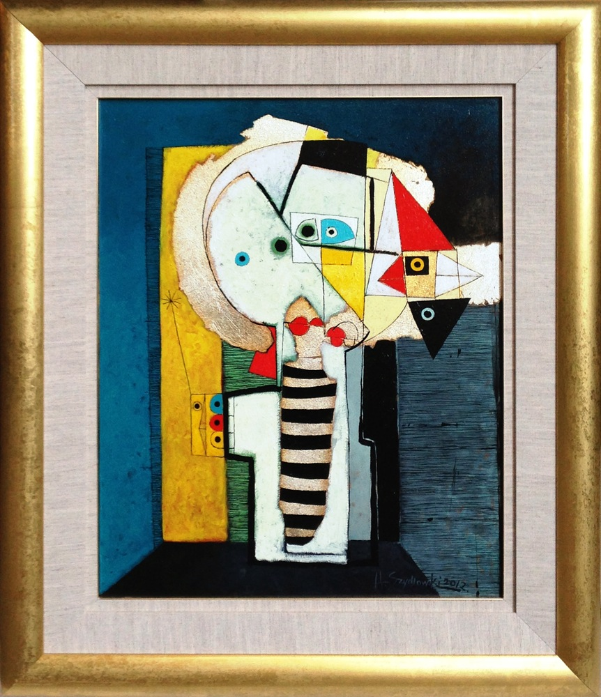 #14269 Henryk Szydlowski   Stalker of the Honey Bird   103cm x 88cm