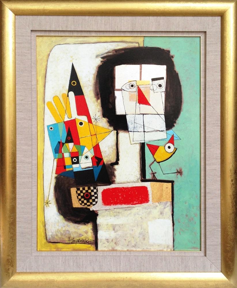 #14263 Henryk Szydlowski   Phantom of the Bird Chaser   113cm x 92cm