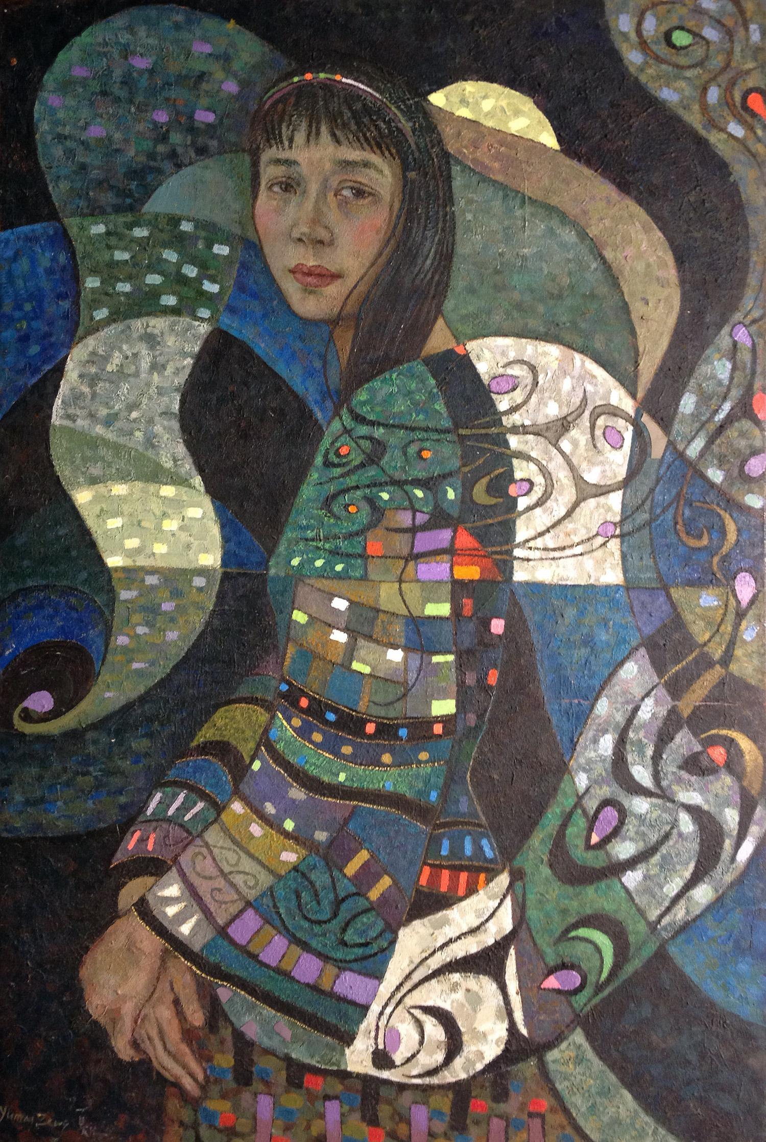 #14667 Yuman Zeng 'Dream' 92cm x 136 $20800