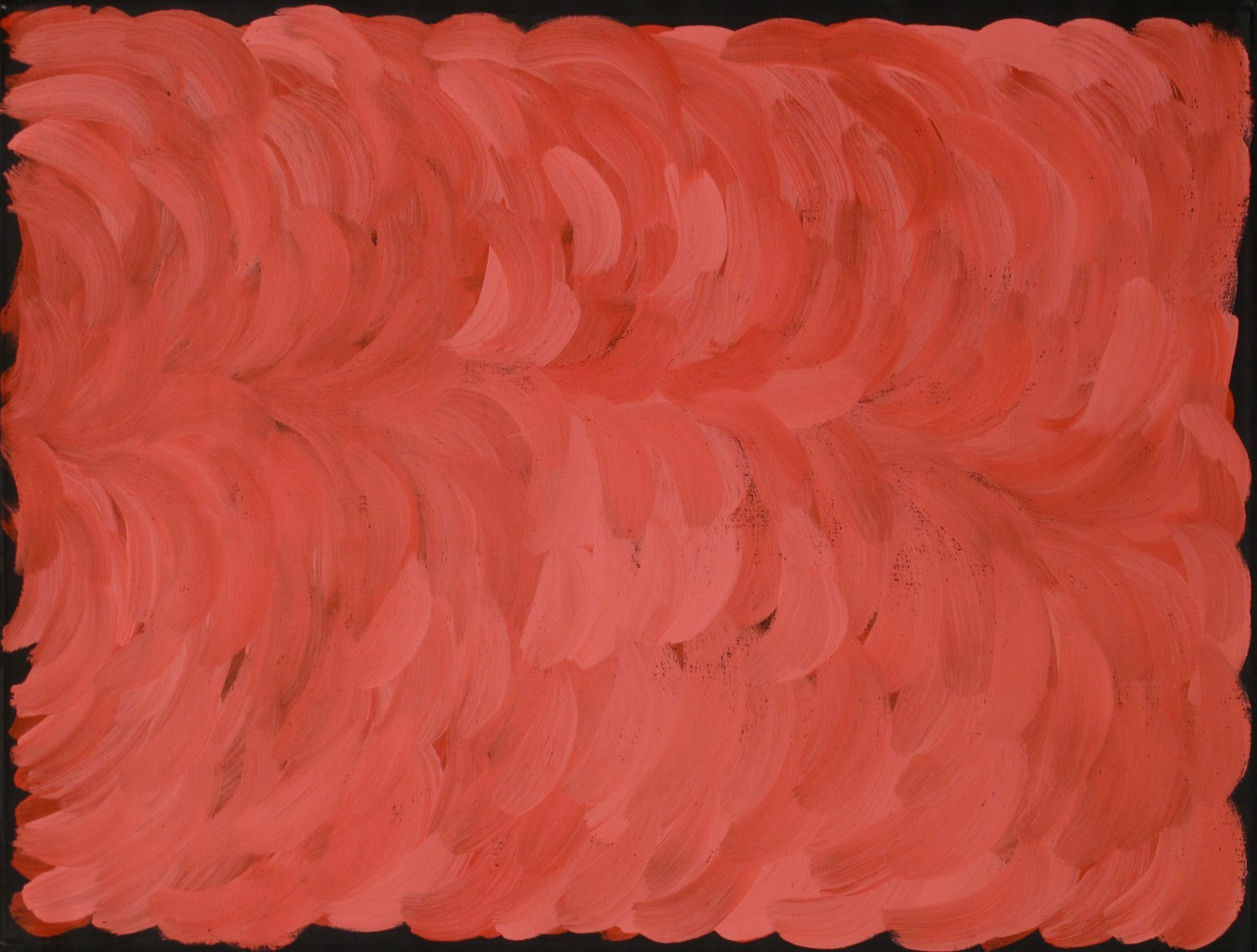 10136. Gloria Petyarre. Leaves 90x119cm Was $5,500 Now $3850 (one of her very first big brush works)