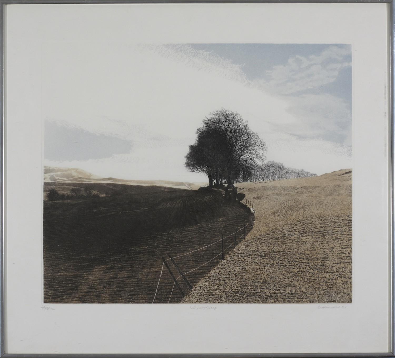 GRW2. Greenwood. Winter Ridge. LE Fine Art Print 179-250. 58cm x 64cm. Was $580 Now $192