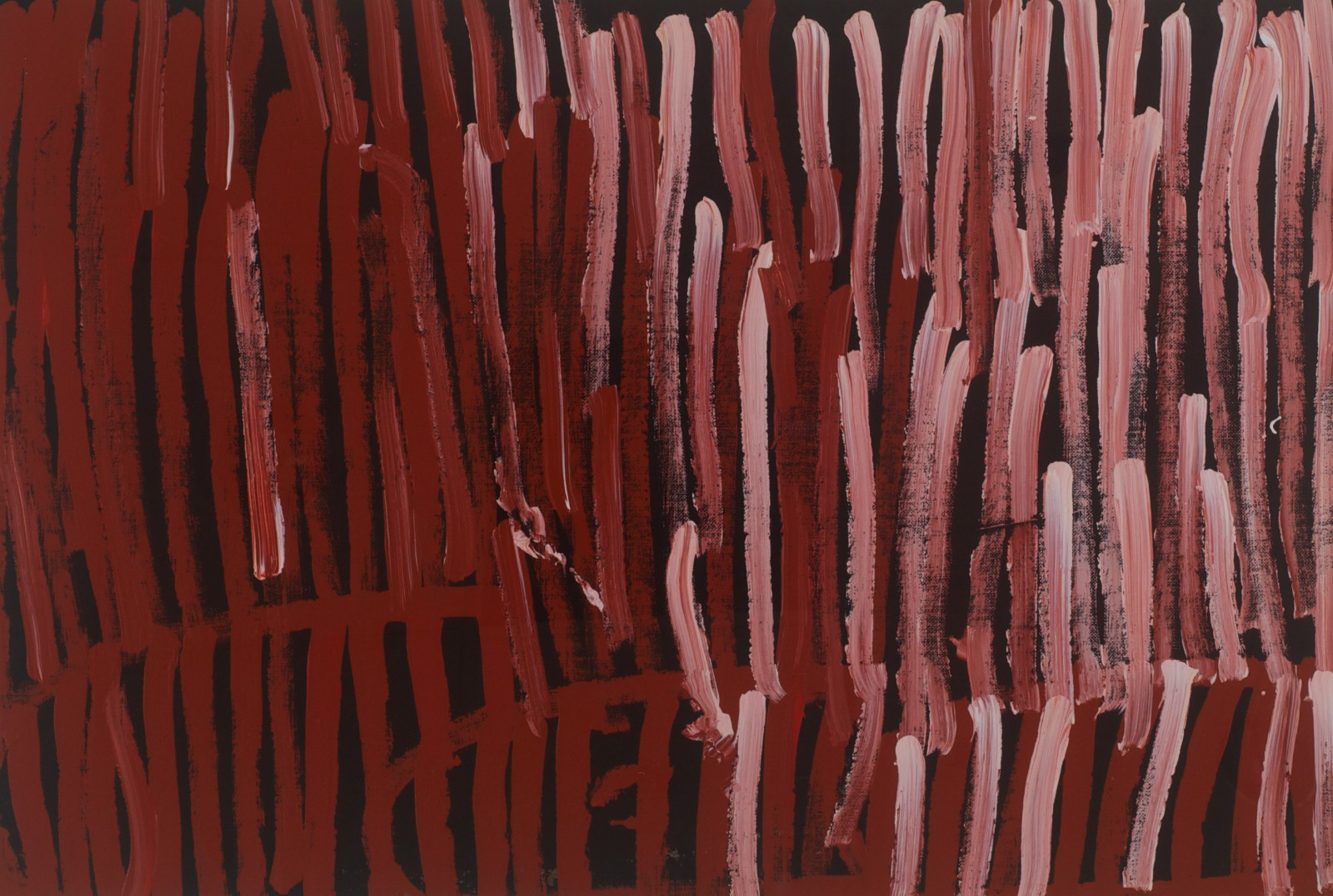 Minnie Pwerle 'Body Paint' 60cm x 90cm (115cm x 145cm Framed) #10200