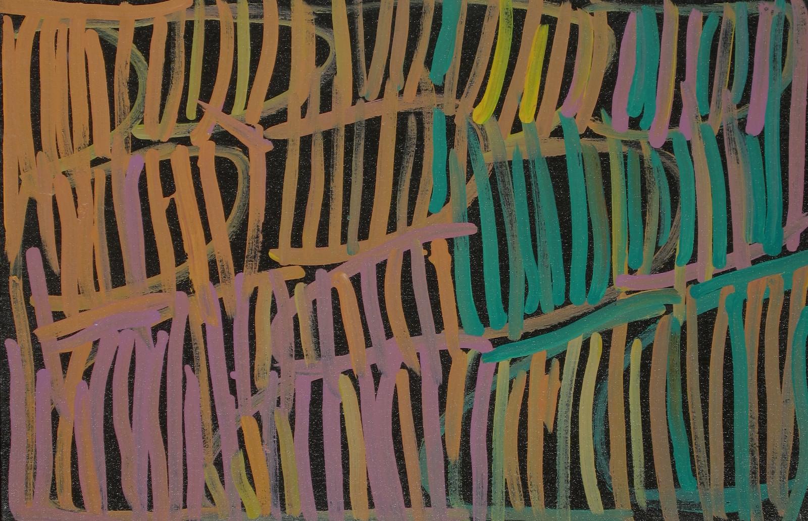 Minnie Pwerle 'Awelye antwengerrep' acrylic on linen 91 x 60cm #14514