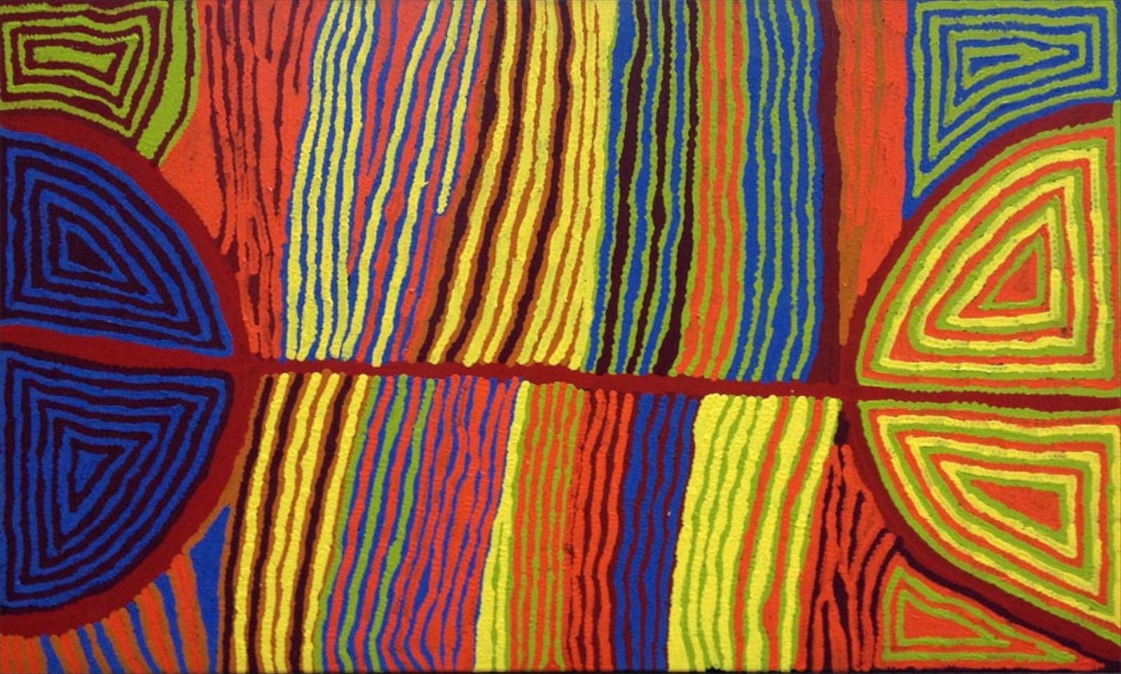 Judy Watson Napangardi150cm x 90cm #13589