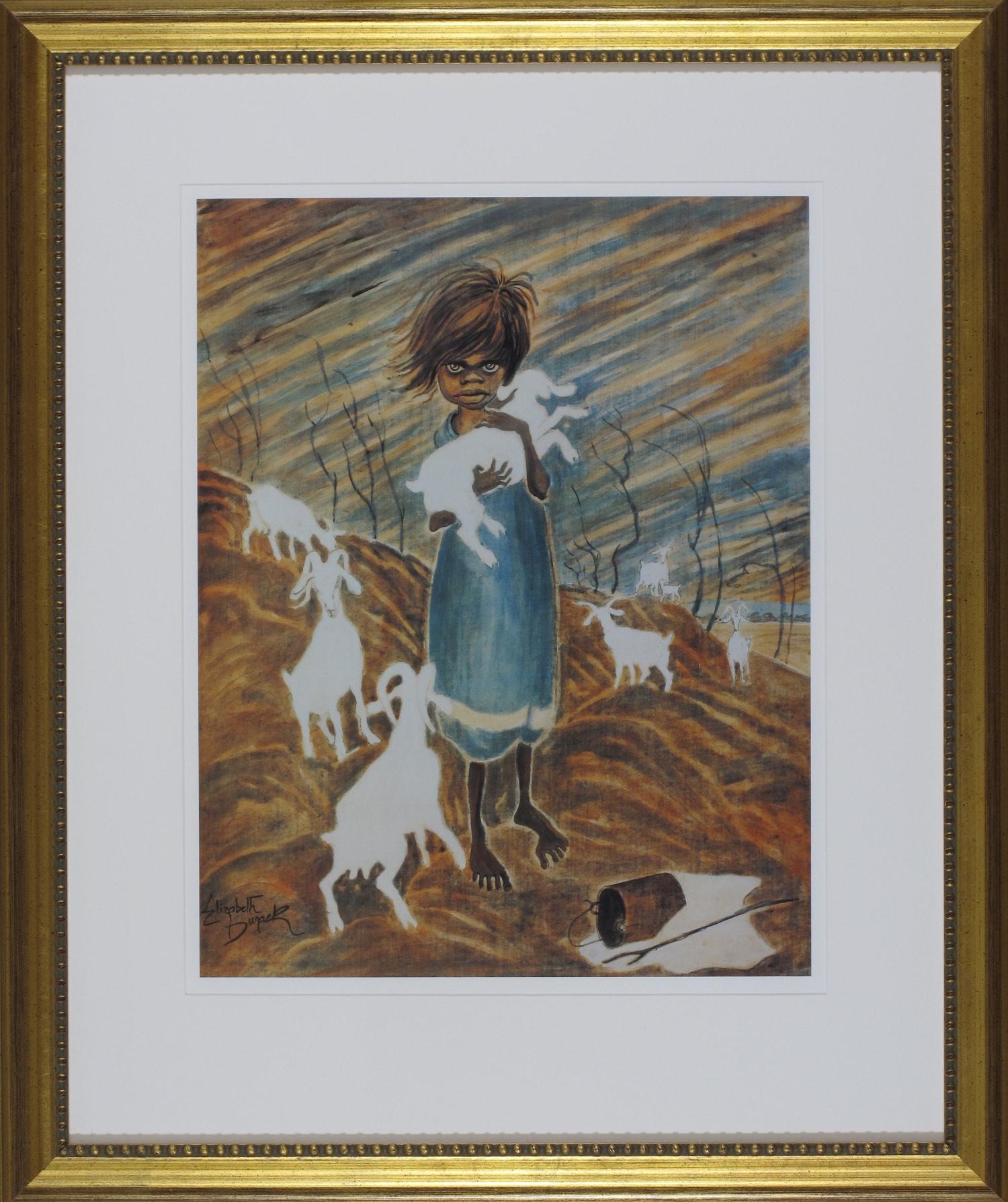 Elizabeth Durack. The Kid. 78cm x 65cm #9404