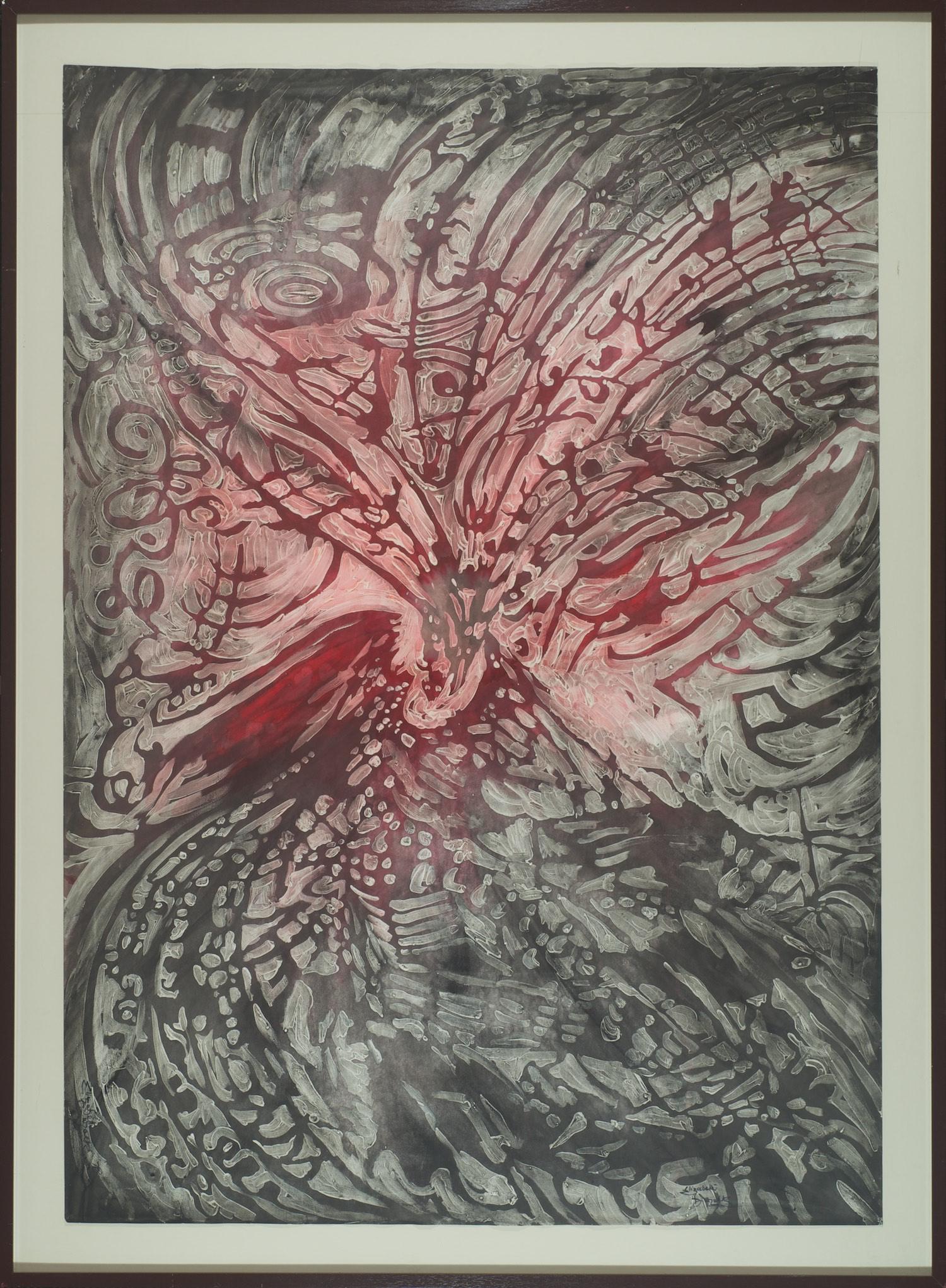 Elizabeth Durack 'Beyond the RIm' 117cm x 160cm